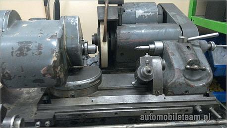 Szlifierka produkcji niemieckiej Overbeck model ZETTO 2. Foto 3.