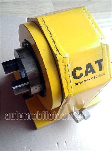 Adapter do sprawdzania pompy hydraulicznej Caterpillar C7 C9,