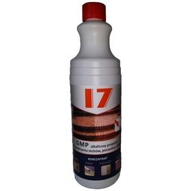 Alkaliczny preparat do zwalczania mchów, porostów i pleśni.