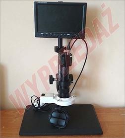 Mikroskop do elektroniki samochodowej.